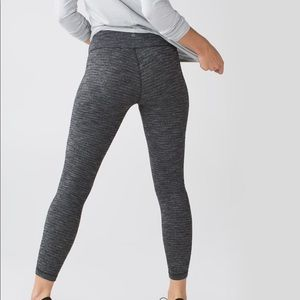 LULULEMON • coco pique high waisted wunder unders